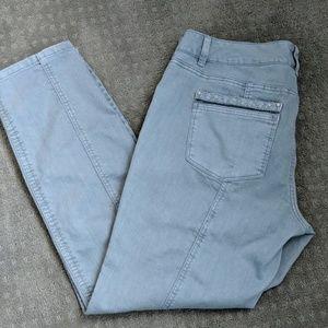 White House Black Market Slim Ankle Jeans